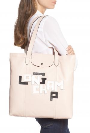 LONGCHAMP Le Pliage Cuir 皮質包包 $412.05(原價$615)