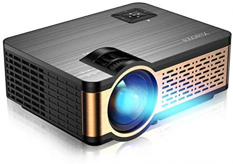 ihocon: XIAOYA 4000 Lumens Home Theater Projector with HiFi Speaker 家庭劇院投影機