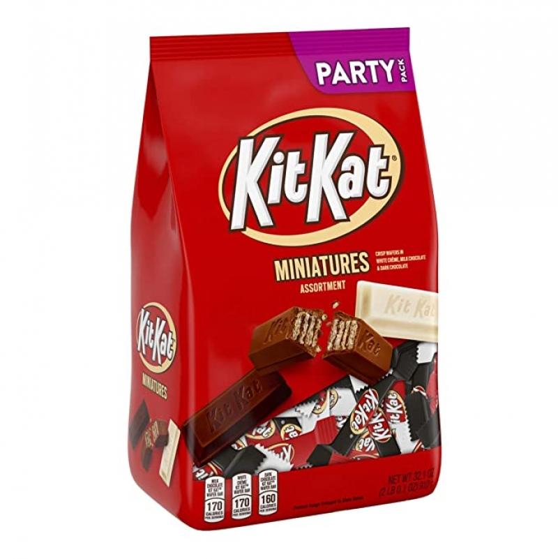 ihocon: Kit Kat Halloween Candy Assortment, 2 Pounds  綜合糖果