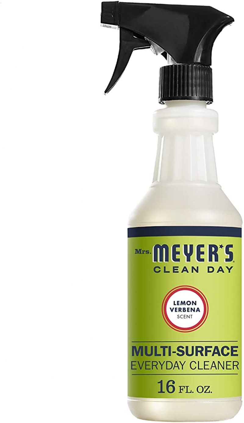 ihocon: Mrs. Meyer's Clean Day Multi-Surface Everyday Cleaner, Lemon Verbena, 16 ounce bottle 萬用清潔劑