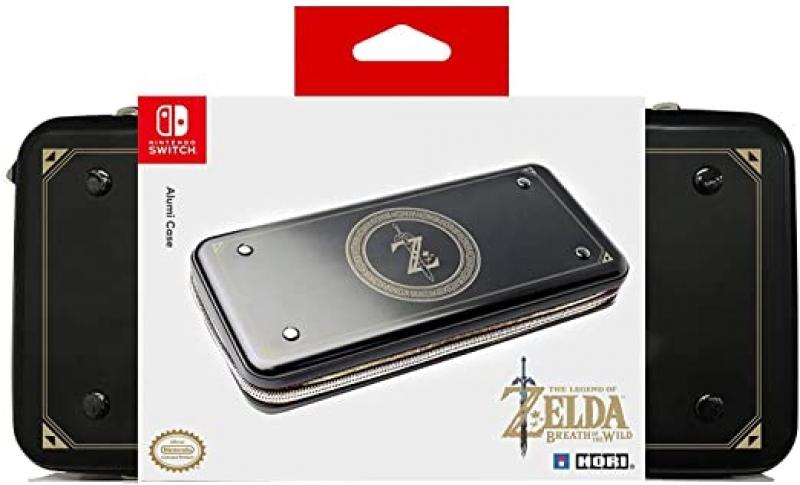 ihocon: [官方授權] HORI Nintendo Switch Alumi Case (Zelda Edition)收納盒