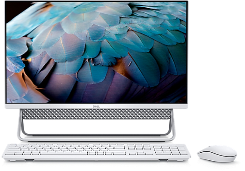 ihocon: Dell Inspiron 24 5000 Silver Touch All-In-One with Arch Stand (i7-10510U 16GB 256GB+1TB MX110)