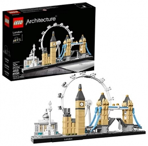 ihocon: LEGO Architecture London Skyline Collection 21034 Building Set Model Kit(468 pieces) 樂高建築倫敦天際線