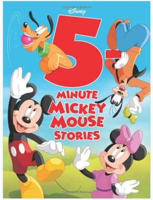 ihocon: Disney 5-Minute Mickey Mouse Stories (Hardcover) 精裝本米老鼠故事書