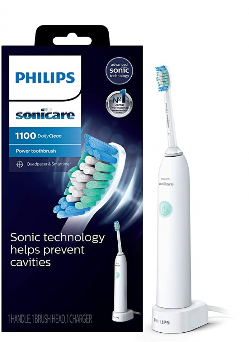 ihocon: Philips Sonicare DailyClean 1100 Rechargeable Electric Toothbrush, HX3411/04 飛利浦充電式電動牙刷