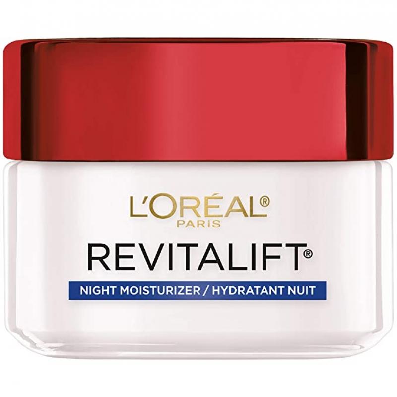 ihocon: L'Oreal Paris Skincare Revitalift Anti-Aging Night Cream, 1.7 oz.抗老晚霜
