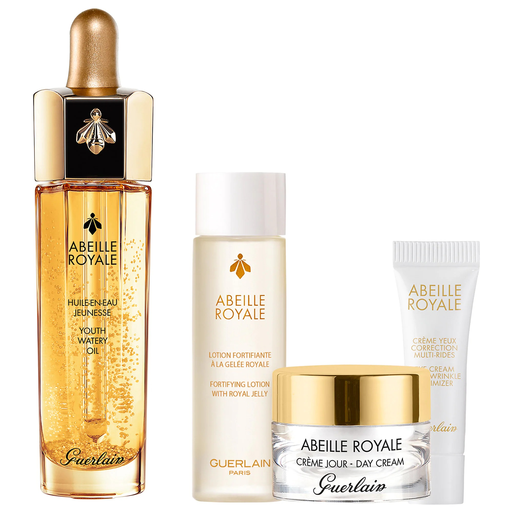 ihocon: 嬌蘭Guerlain Abeille Royale Anti-Aging Youth Watery Oil Discovery Set 抗老保養套裝
