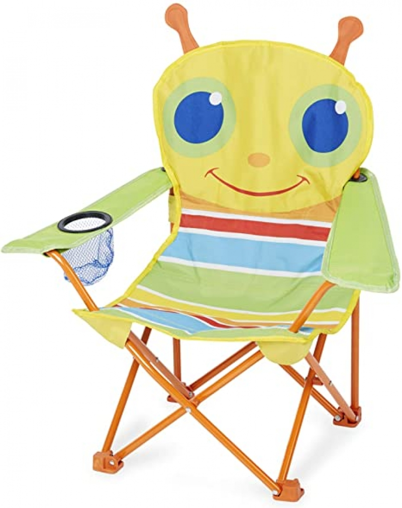 ihocon: Melissa & Doug 27 x 25 x 15 Giddy Buggy Chair 兒童折疊椅