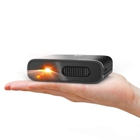 ihocon: Artlii DLP Projector with 5200mAh Built-in Battery, Compatible with iPhone and Smartphone 迷你投影機