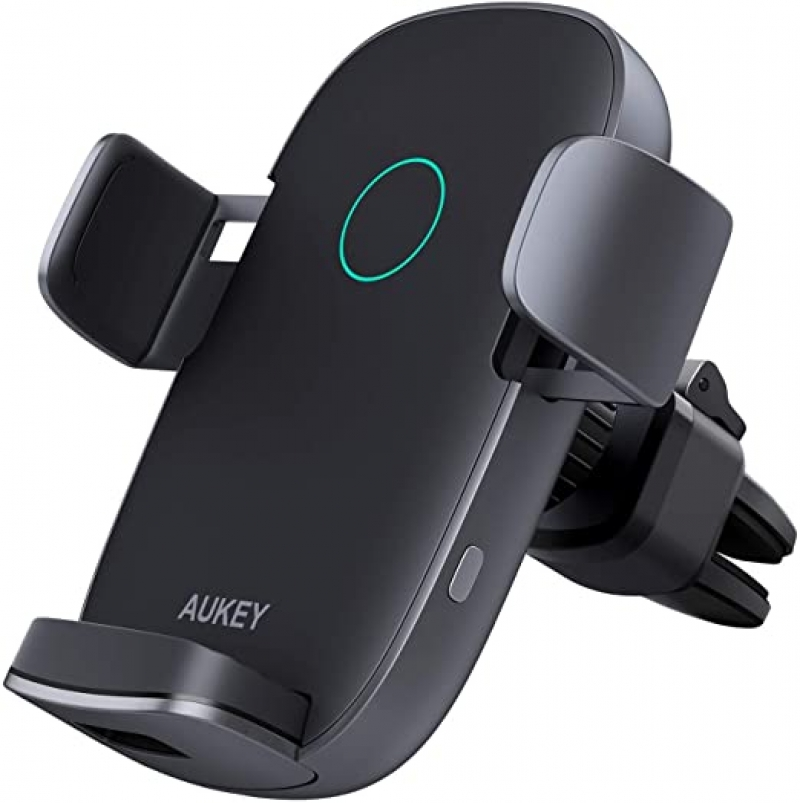 ihocon: AUKEY Wireless Car Charger 10W Qi Fast Charging 汽車無線充電器/固定架