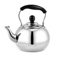 ihocon: DclobTop Whistling Tea Kettle,  Stainless Steel 3Qt,不銹鋼笛音煮水壺