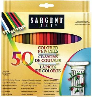 Sargent Art 彩色鉛筆 50支 $6.65(原價$9.41)