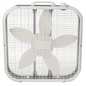 ihocon: Lasko 20 Box 3-Speed Fan, Model B20200 方形扇/窗扇