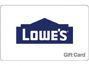 $100 Lowe's Gift Card 只賣 $90