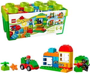 ihocon: LEGO DUPLO All-in-One-Box-of-Fun Building Kit 10572 (65 Pieces)