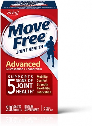 ihocon: Move Free Joint Health Supplement Tablets,  (200 count in a bottle)維骨力