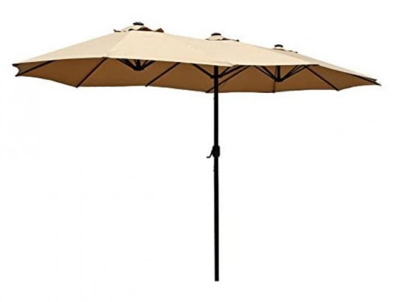 ihocon: Le Papillon 15 ft Market Outdoor Umbrella 遮陽大傘