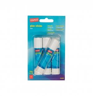 ihocon: Staples Permanent Glue Sticks, .28 oz., 4/Pack