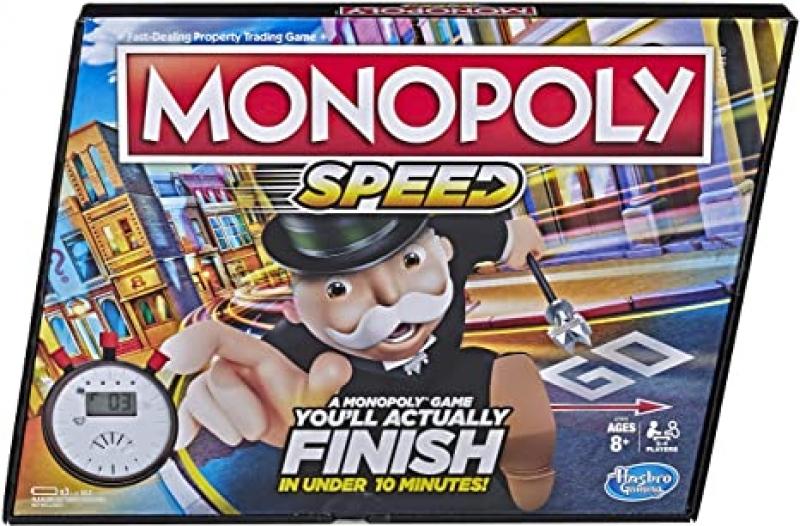 ihocon: Monopoly Speed Board Game 大富翁快速版, 每局十分鐘內結束