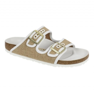 ihocon: Birkenstock Arizona Nature Jute Sandals 勃肯鞋