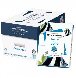 ihocon: Hammermill Copy Plus 8.5 x 11 Copy Paper, 20 lbs, 92 Brightness, 500/Ream, 10 Reams/Carton (105007)