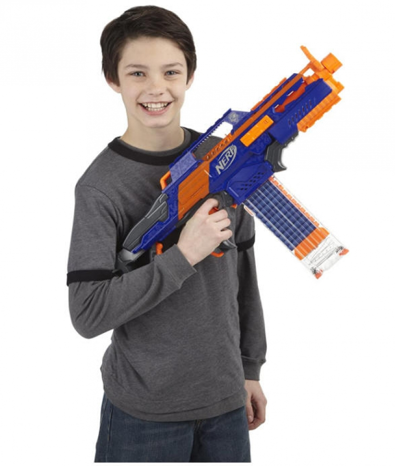 ihocon: 玩具槍 Nerf N-Strike Elite Rapidstrike CS-18 Blaster with 18 Darts