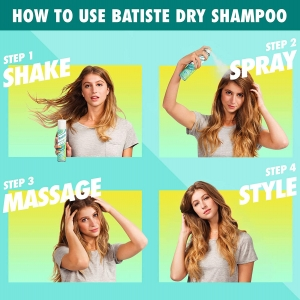 ihocon: Batiste Dry shampoo, original, 300ml, 10.10 oz 免水乾洗髮噴霧