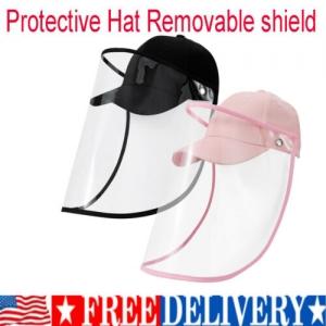 ihocon: Kids Full Face Cover Shield Baseball Cap 兒童防護棒球帽 - 多色可選
