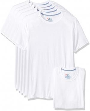 Hanes 男士圓領衫(Size L) 5件 $13(原價$21.24)