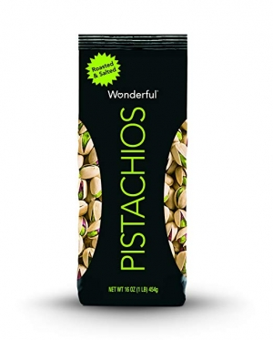 ihocon: Wonderful Pistachios, Roasted and Salted, 16 Ounce Bag 開心果