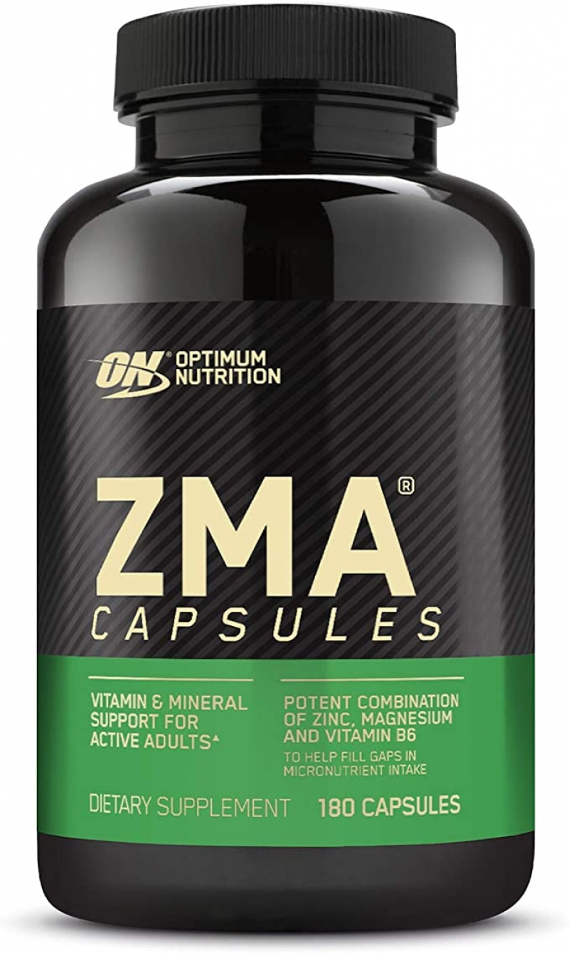 ihocon: Optimum Nutrition ZMA, Zinc for Immune Support, 180 Count鋅鎂素運動修復補充劑