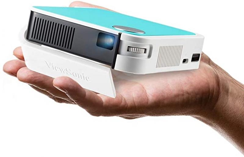 ihocon: ViewSonic M1 Mini Portable LED Projector, Bluetooth JBL Speaker, HDMI, Auto Keystone迷你便攜式投影機