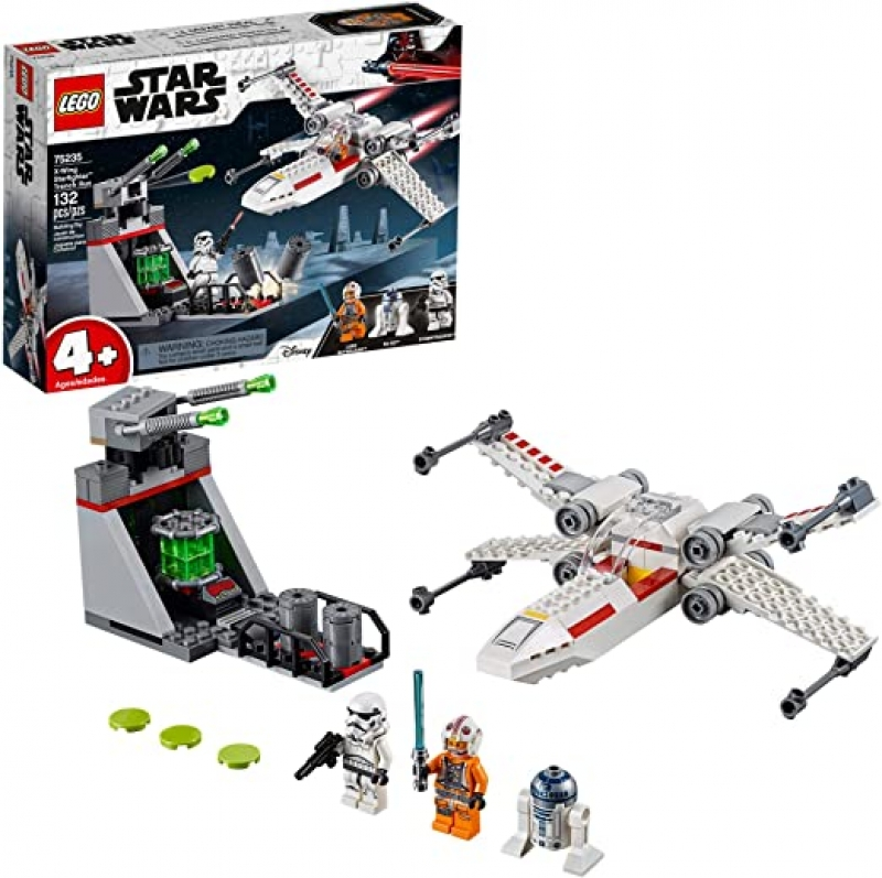 ihocon: LEGO Star Wars X Wing Starfighter Trench Run 75235 4+ Building Kit (132 Pieces)