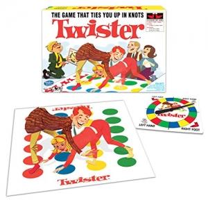 ihocon: Winning Moves Games Classic Twister 贏得移動遊戲經典