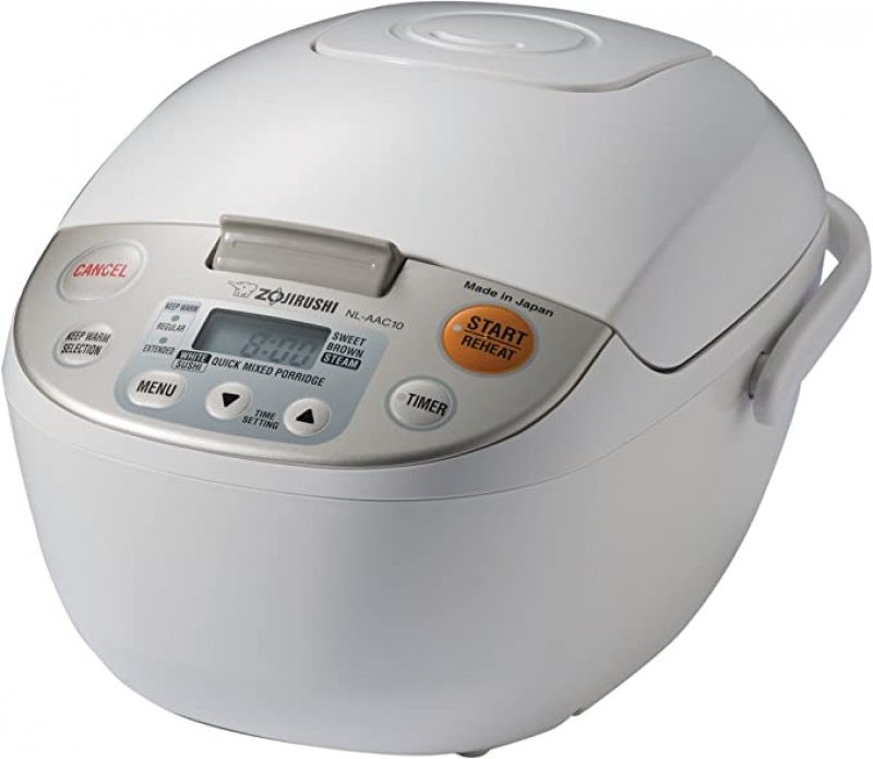 ihocon: Zojirushi NL-AAC10 Micom Rice Cooker (Uncooked) and Warmer, 5.5 Cups/1.0-Liter 象印電飯鍋