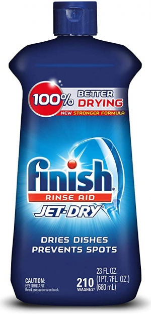 ihocon: Finish Jet-Dry Aid, 23oz, Dishwasher Rinse Agent & Drying Agent, 23 Fl Oz (Pack of 1) 洗碗機快乾光潔劑