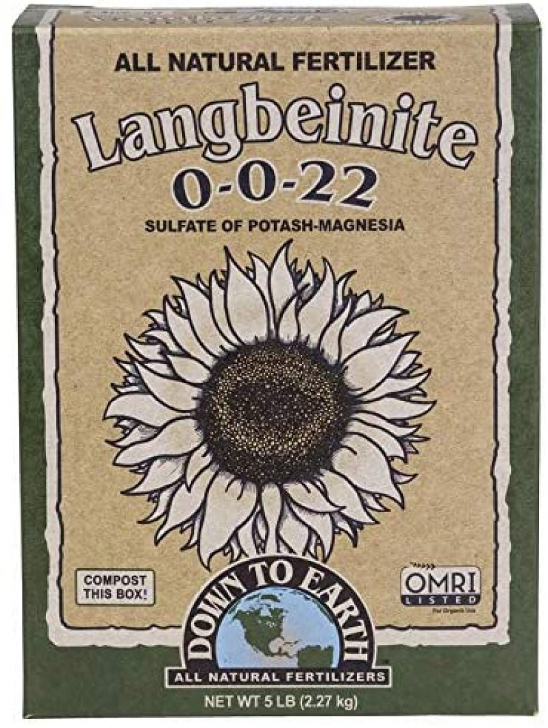 ihocon: Down to Earth Organic Langbeinite Fertilizer Mix 0-0-22, 5 lb