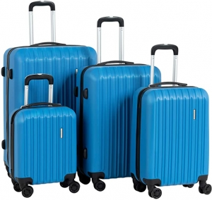 ihocon: Murtisol Travel 4 Pieces ABS Luggage Sets 硬殼行李箱