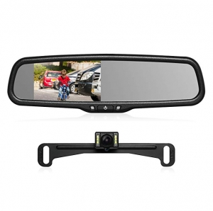 ihocon: Auto-Vox T2 4.3 LCD Backup Camera Kit with IP68 Waterproof Rear View Camera,Super Night Vision for Parking & Reversing 行車記錄器, 含車尾倒車鏡頭