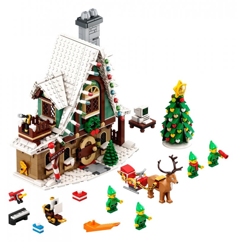 ihocon: 樂高積木 Elf Club House (1197 Pieces)