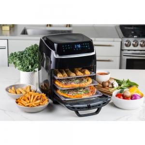 ihocon: modernhome 10 QT Aria Air Fryer With Rotating Rotisserie, Dehydration, Premium Accessory Set, & Recipe Book 氣炸鍋