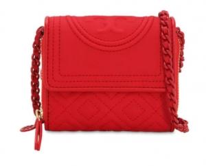 ihocon: Tory Burch Mini pvc wallet shoulder bag, Red