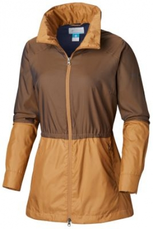 ihocon: Columbia Women's Sustina Springs™ Long Lined Windbreaker 女士防風夾克