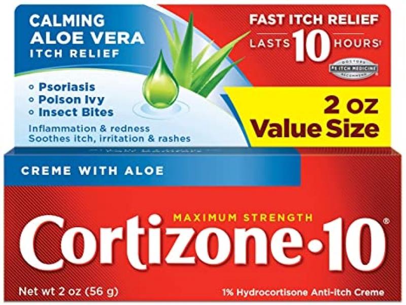 ihocon: Cortizone-10 Maximum Strength, 2 Ounce Box 抗癢軟膏