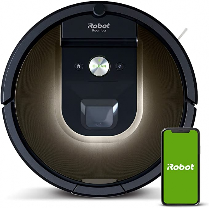 ihocon: iRobot Roomba 981 Robot Vacuum-Wi-Fi Connected Mapping & Works with Alexa智能吸地機器人