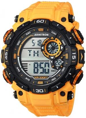 ihocon: Armitron Sport Men's 40/8397YLW Digital Chronograph Strap Watch  男錶