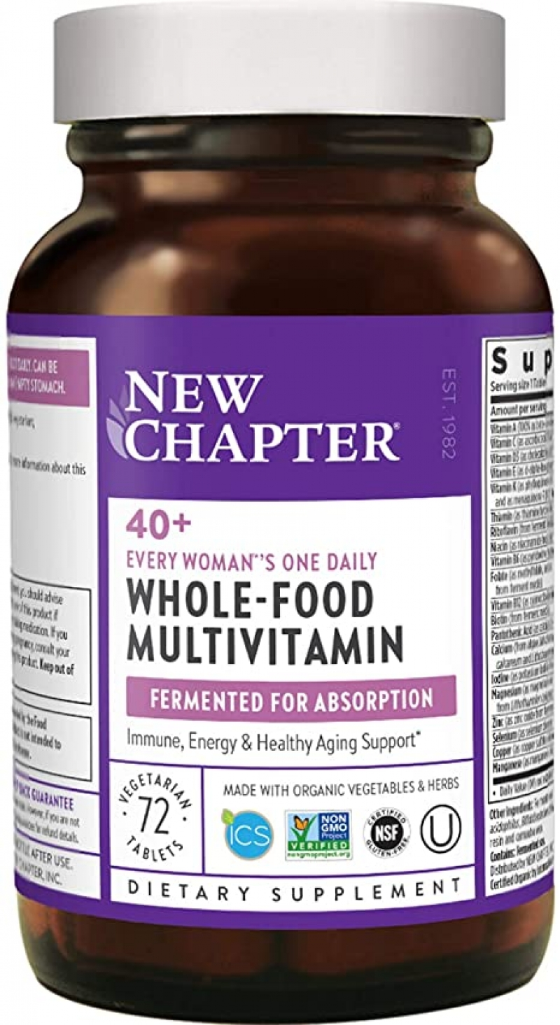 ihocon: New Chapter Women's Multivitamin + Immune Support - 72 ct 女士綜合維他命(40歲+)
