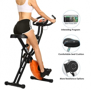 ihocon: Ancheer Stationary Cycle Indoor Upright Bike 健身自行車