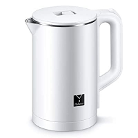 ihocon: Yabano Electric Kettle 1.5L Double Wall Kettle Stainless Steel 雙層不銹鋼電熱水瓶