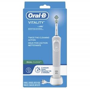 Oral-B Dual Clean 電動牙刷 $14.99(原價$31.99)